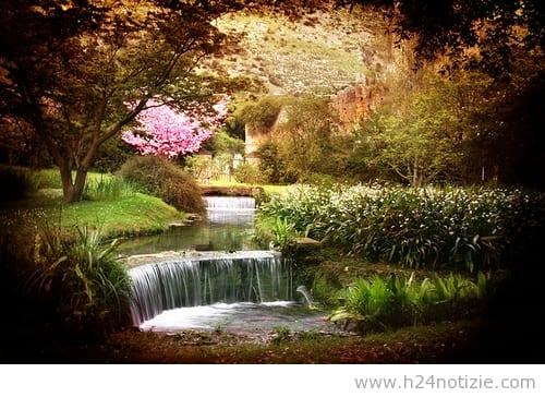 I giardini di ninfa anticipano l 39 apertura con emptyninfa - Il giardino di ninfa ...