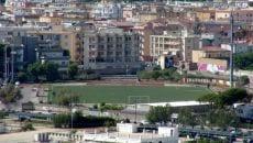 Lo Stadio Riciniello di Gaeta