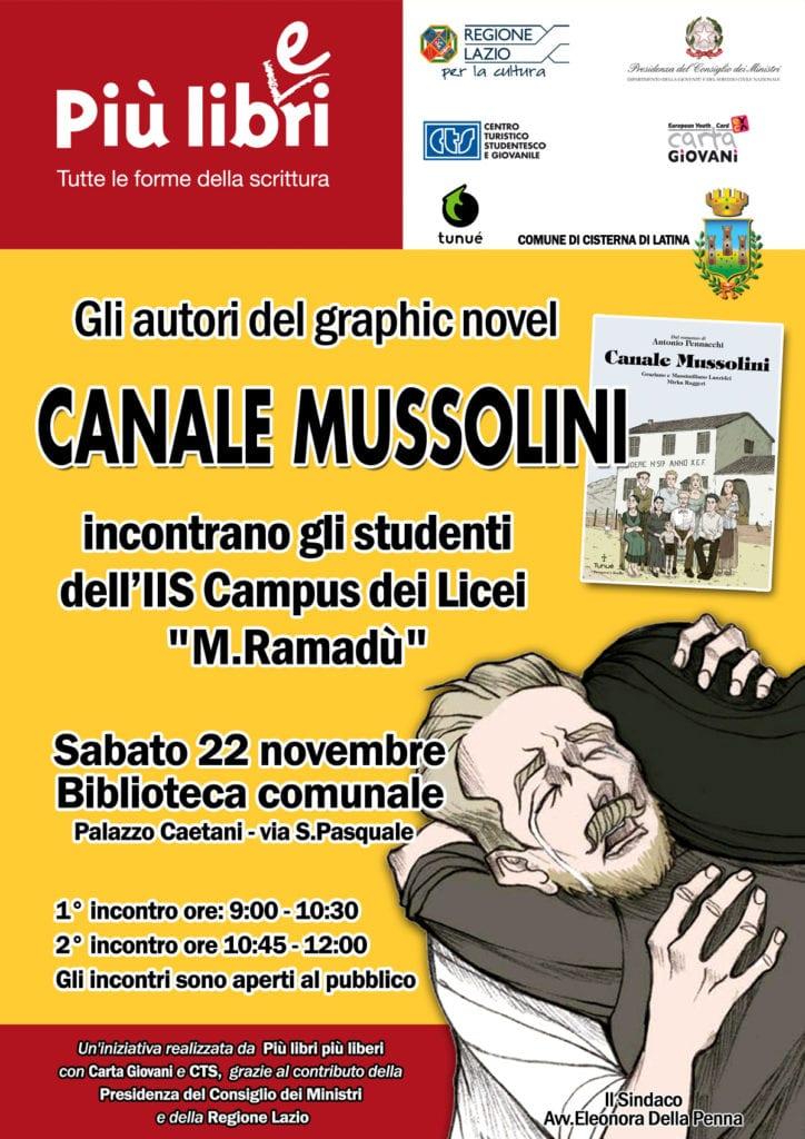 LOCANDINA FUMETTO CANALE MUSSOLINI - md