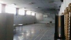 *La palestra del Liceo come appare oggi prima dell'avvio dei lavori*
