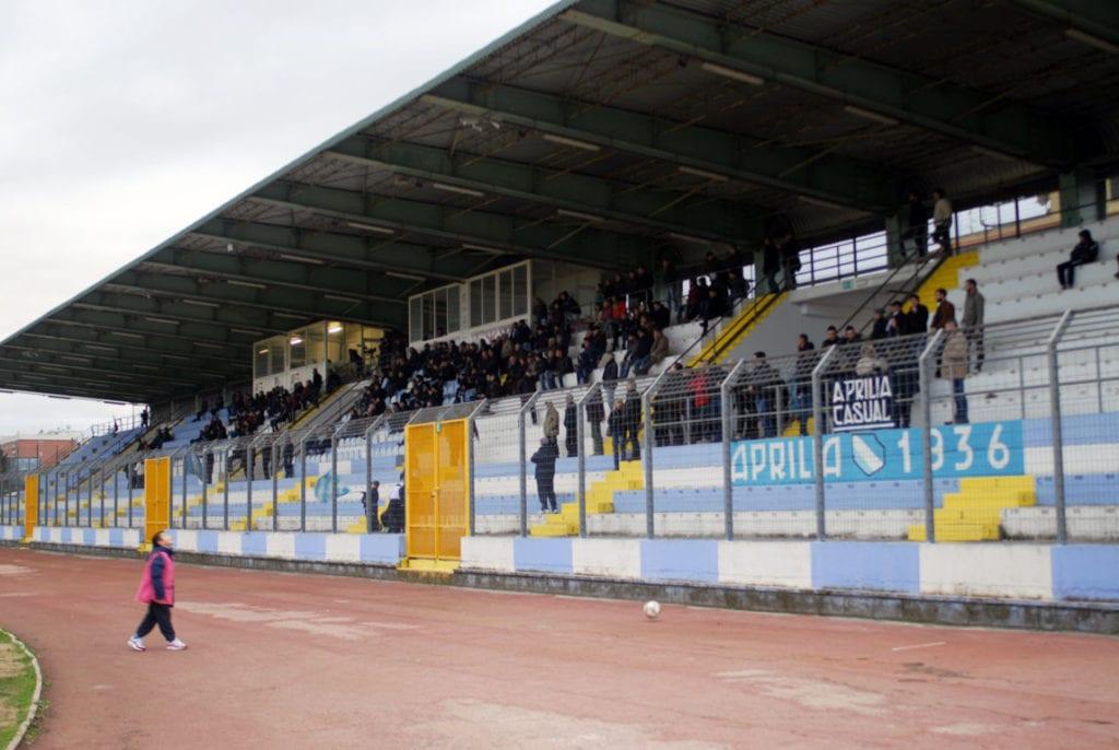 Aprilia Calcio stadio 2