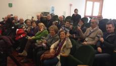 Gli attivisti assistono alla seduta del Consiglio Regionale dello scorso 28 gennaio
