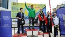 Emanuele Manzi premiato sul podio