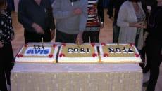 Un momento dei festeggiamenti del trentennale dell'Avis di Cori