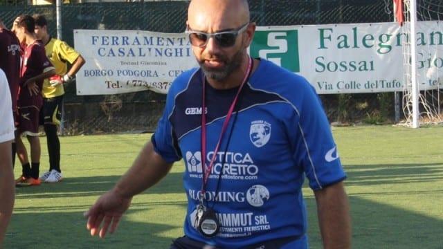 *Davide Paccassoni, allenatore del Real Podgora*
