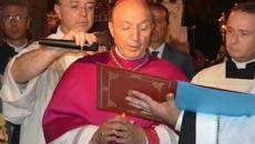 L'arcivescovo Fabio Bernardo D'Onorio
