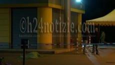 Il luogo del duplice omicidio a Sezze Scalo