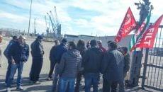 protesta porto gaeta