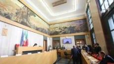 Il Consiglio provinciale di Latina riunito