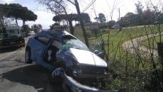 incidente sulla Cisterna-Campoleone