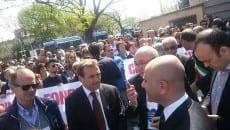 manifestazione ospedale Roma 5