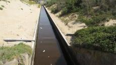 sversamento lago sabaudia (2)