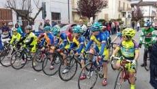 Ciclisti alla partenza sezze