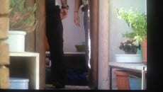 Il corpo di Mario Piccolino a terra presso il suo studio - abitazione