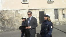 *Il dottor Filippo Milano sul luogo del crimine*
