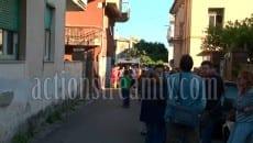La traversa di via della Conca a Formia il giorno dell'omicidio