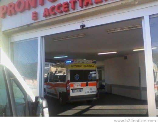 L'ingresso del pronto soccorso fondano