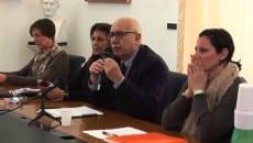 La conferenza di Bartolomeo con l'attacco alla stampa (6 febbraio 2014)
