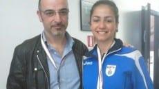 Camilla con il papà Roberto