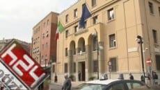 La caserma dei carabinieri a Latina