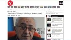 Mario Piccolino in un articolo apparso sul giornale inglese Independent