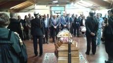 Il presidente della Regione Zingaretti presenzia alla camera ardente