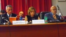 Il questore De Matteis, De Martino e il sindaco Bartolomeo