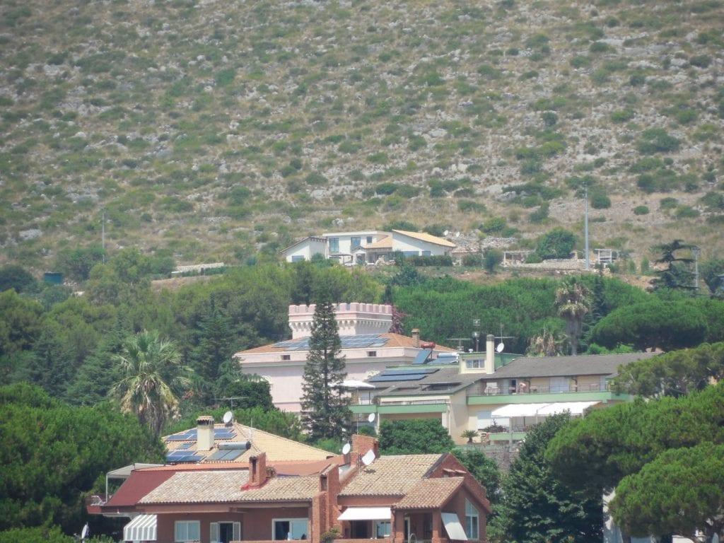 L'unica villa esistente in località Acerbara