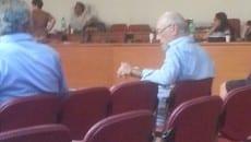 Ernesto Bardellino in Consiglio comunale a Formia nel luglio 2015