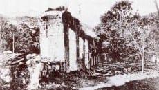 Una immagine dell'acquedotto del 1900
