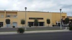 Il cinema Augustus in Piazza del Comune  a Sabaudia