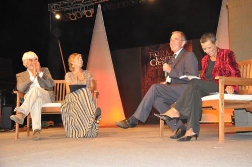Robert Harris ospite durante l'edizione 2010 de Le Notti di Cicerone (foto Freevillage).