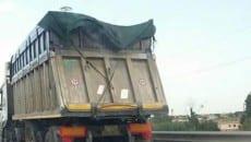 Trasporto di pet coke non conforme ai regolamenti tra Gaeta e Sessa Aurunca