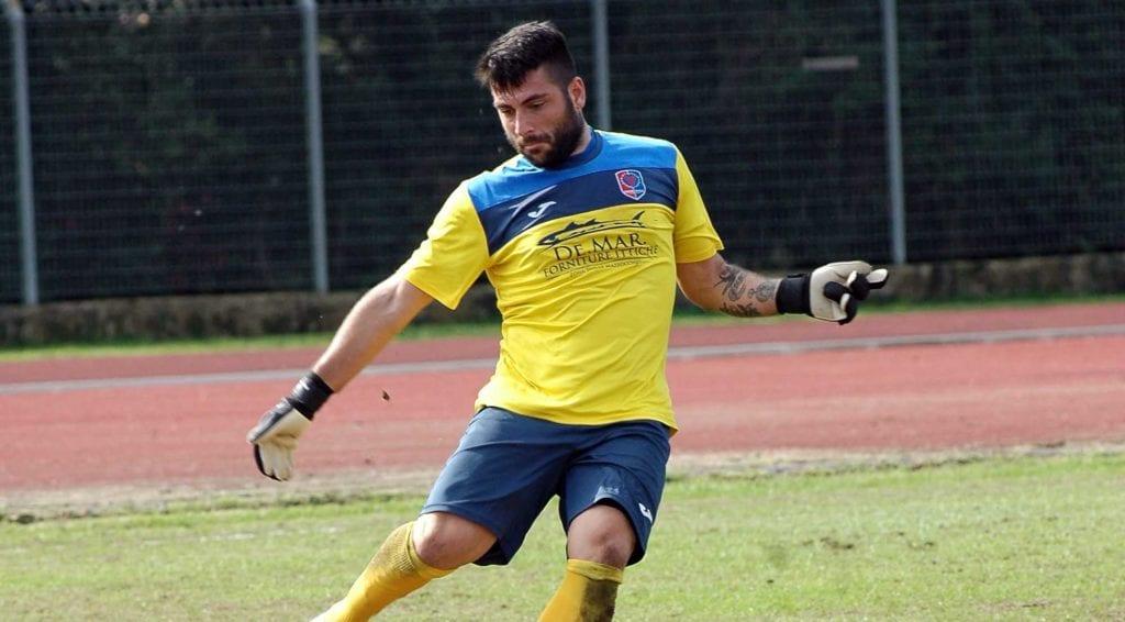 Angelo Stefanini, portiere del Sezze.