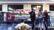 boxe latina Spinelli vs D'Antoni - Inizio match