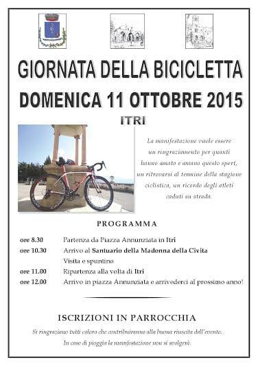 Gioranata Della Bicicetta Itri H24 Notizie Portale Indipendente