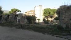 Un tratto dell'acquedotto romano
