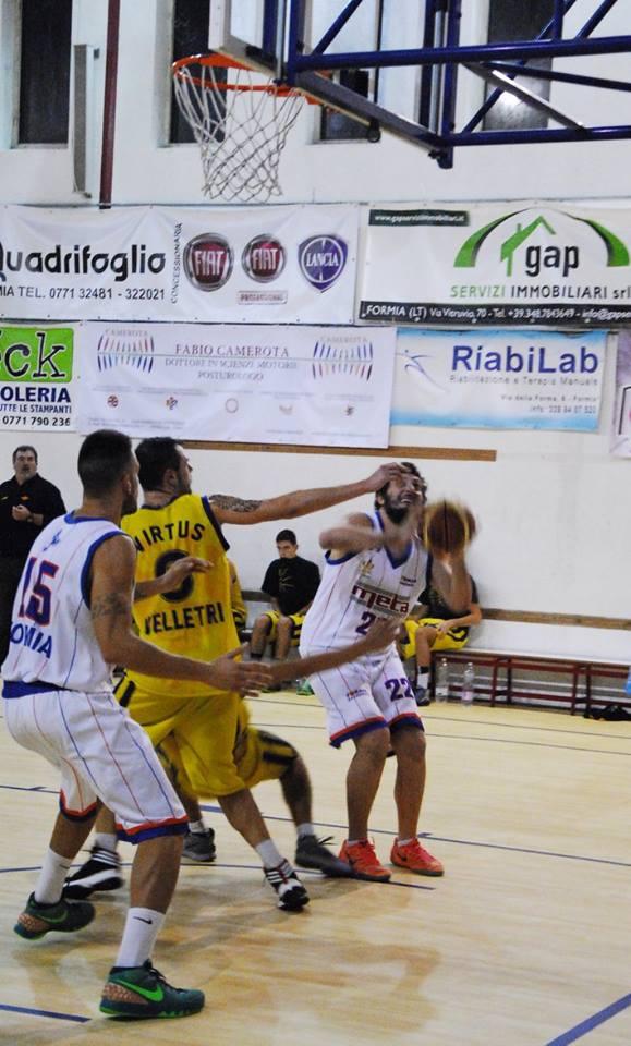 Alessandro Porfido, Meta Formia Basketball.