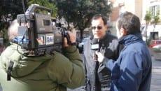 Amato La Mura intervistato dalla Rai nel febbraio 2011 nel corso del servizio realizzato durante la visita