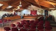 L'aula del Consiglio comunale