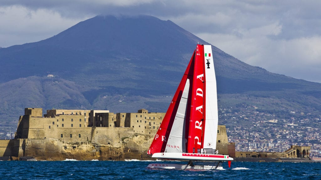 Naples, 121/04/12 America's Cup World Series Naples 2013 Day 2 Photo: © Carlo Borlenghi