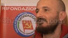 Gennaro Varriale, segretario di Rifondazione Comunista a Formia