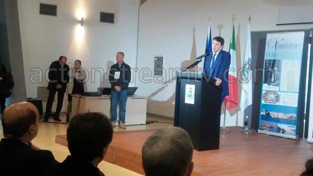 Matteo Renzi a Ventotene