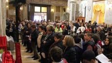 Un momento del Venerdì Santo a Giulianello