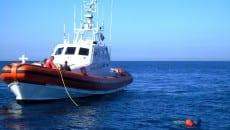 La Guardia Costiera nel tratto di mare dove è stato individuato il Rosinella