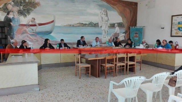 Il Consiglio comunale di Sperlonga riunito oggi
