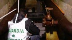 Guardia di Finanza a Ventotene: esami sul depuratore