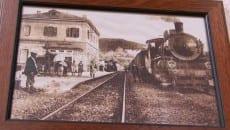 Un'immagine storica della tratta ferroviaria