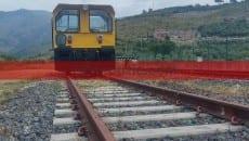 La locomotiva che sabato sarà messa in funzione sulla tratta