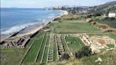 Villa di Tiberio e litorale di Levante a Sperlonga
